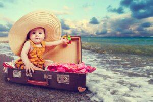 Mala de viagem do bebê: o que levar?